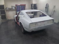 RUSTORATION AUTOBODY RENTAL  SPRAY BOOTH FOR BODY WORK AND PAINT