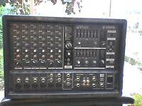 Yamaha EMX680 +4 monitors+400watt powered monitor,GWO