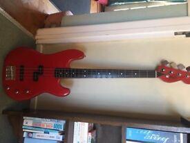 Bass Guitar - Axe Korean made