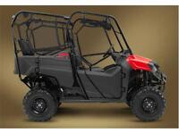 Brand New Honda 700 Pioneer 4 The Side-By-Side With A Difference