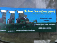 B,s Lawncare and Snowremoval