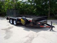 Contractor Package Landscape Trailers - Loaded, Re
