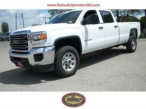 2015 GMC Sierra 2500HD WT | Long Box | 4x4 | CERTIFIED
