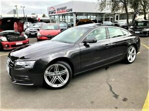 2013 Audi A5 8T MY14 Sportback Multitronic Grey 8 Speed Constant Variable Hatchback Seaford Frankston Area Preview