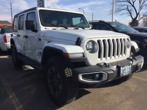 2019 Jeep Wrangler Unlimited SAHARA | DEMO | NAV | HEATED SEATS