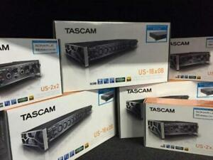 TASCAM INTERFACE AUDIO* 2X2 - 4X4 - 16X08 - 20X20 * BEST PRICE *