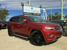 2013 Jeep Grand Cherokee WK MY2014 Overland Maroon 8 SPEED Semi Auto Wagon Southport Gold Coast City Preview