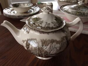 Friendly Village China-Made In England