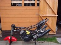 KAWASAKI NINJA 250cc Motorcycle Parts Including Engine Frame Carbs Brakes Frame Etc - Only £90!!!