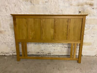 FOR SALE: WOODEN HEADBOARD FOR DOUBLE BED
