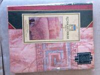 BNIP Single Bed Duvet Quilt Cover vintage Bedding