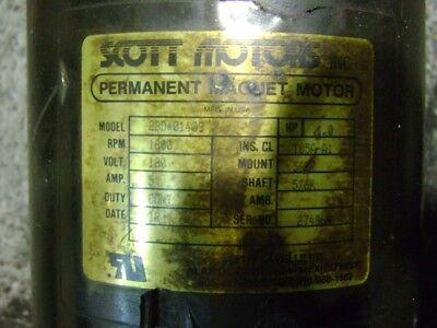 Scott Permanent Magnet Motor 1 Hp