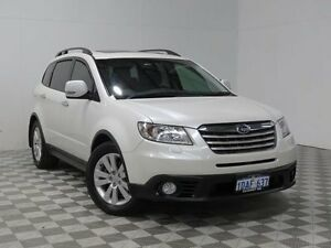2009 Subaru Tribeca MY10 3.6R Premium (7 Seat) White 5 Speed Electronic Sportshift Wagon Hillman Rockingham Area Preview