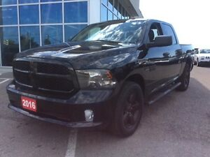 2016 Ram 1500 Black Express PKG - Bluetooth - Spray Liner