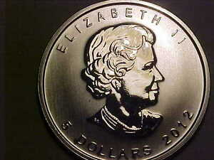 9999 Silver One Ounce Silver Maple Leaf 2012!! London Ontario image 4