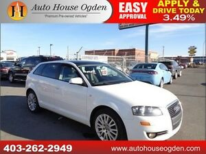 2008 Audi A3 PANORAMIC ROOF HEATED SEATS 90DAYSNOPYMNT!