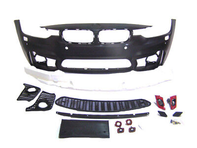 F80 M3 STYLE FRONT BUMPER BMW FOR F30 3 SERIES SEDAN WAGON w/ PDC FOGTYPE 12-18  ()