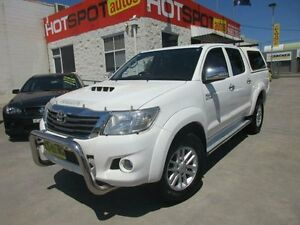 2012 Toyota Hilux KUN26R MY12 SR5 White 4 Speed Automatic 4D UTILITY North Parramatta Parramatta Area Preview