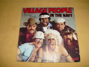 Village-People-In-The-Navy-45-RPM-7-039-039-Single
