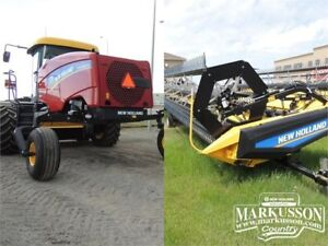 New Holland SR160 & 436 Swather Tractor - 160HP - 3.9% Financing