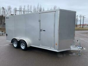 NEW 2019 XPRESS 7' x 16' ALUMINUM ENCLOSED TRAILER