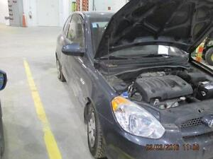 Parting out  09 Hyundai Accent 2 door hatchback