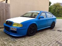 skoda Octavia VRS with antilag launch control remapped 1995