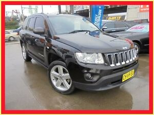2012 Jeep Compass MK MY12 Limited Black 6 Speed Continuous Variable Wagon Holroyd Parramatta Area Preview