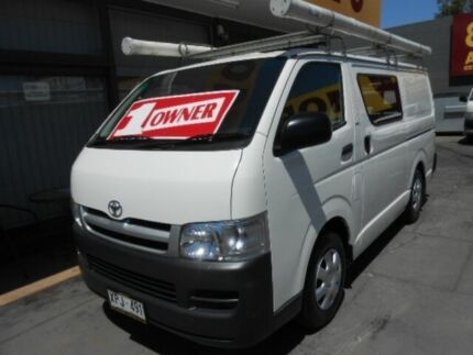 2007 Toyota Hiace TRH201R MY07 LWB White 5 Speed Manual Van West Hindmarsh Charles Sturt Area Preview