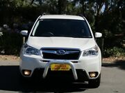 2015 Subaru Forester S4 MY15 2.0D-L CVT AWD White 7 Speed Constant Variable Wagon Melrose Park Mitcham Area Preview