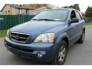 2006 Kia Sorento LX,A1,PARFAIT.4X4,WINTER TIRES LIKE NEW