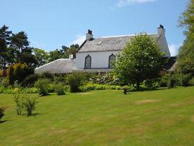 Gardener / Groundsman including General Estate & Field Maintenance for small estate near Mauchline