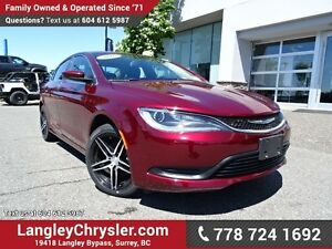2016 Chrysler 200 LX w/ NICHE WHEELS, POWER WINDOWS/LOCKS & 5...