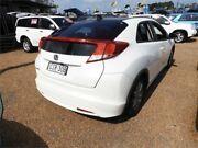 2012 Honda Civic 9th Gen VTi-S White 5 Speed Sports Automatic Hatchback Minchinbury Blacktown Area Preview
