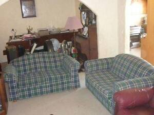 Pair of sofas with fold out bed Glen Osmond Burnside Area Preview