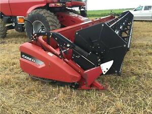 2007 CASE IH 2020 35' FLEX COMBINE HEADER -NEWER KNIVES & GUARDS