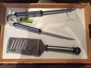 BBQ tools stainless steel St Peters Marrickville Area Preview