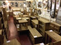 New & Boxed Solid wood Cheap Furniture to take home today, VIEW IN STORE