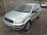 FORD FUSION 1.4 PETROL 5 DOOR HATCHBACK GREEN 63,000 MILES M.O.T TILL 15/08/18 GOOD CONDITION