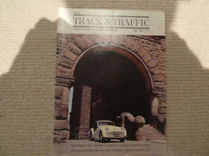 Track and Traffic magazine July 1961 featuring Triumph TR 3