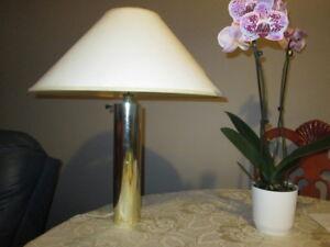 Pierre Cardin brass lamp