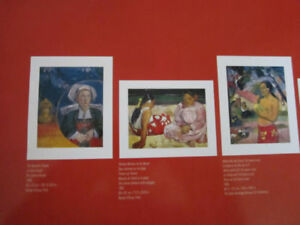 Ready to be framed Prints Bauhaus & Gauguin...brand new..size of