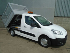 Peugeot Partner 1.6 HDi 90 tipper pick up 2012 12reg