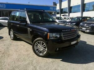 2010 Land Rover Range Rover Vogue L322 10MY Buckingham Blue 6 Speed Sports Automatic Wagon Berwick Casey Area Preview