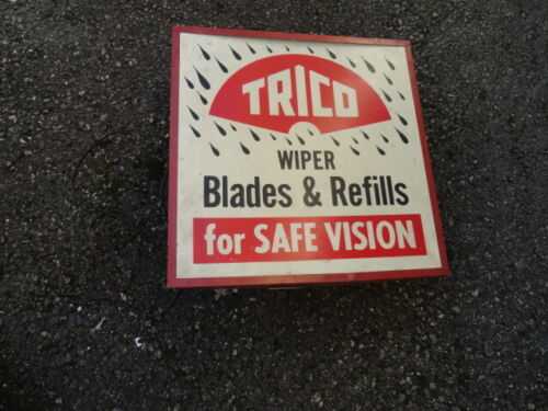 TRICO WIPER BLADE LIGHTED METAL SIGN WALL OR COUNTER DISPLAY