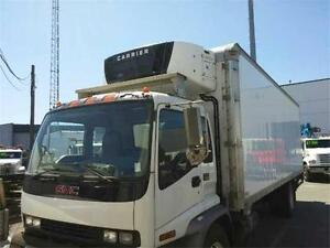 2009 GMC T7500 with 26' Reefer Box (Stock# 410026)