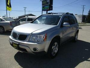 2006 PONTIAC TORRENT AWD SUNROOF, SAFETY&WARRANTY $4,950
