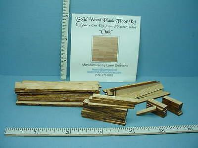 "Miniature Plank Flooring Kit 1/2"" (1:24) (36 Sq In) Oak Wood for sale  Lewisville"
