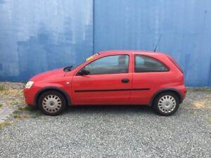 2004 Holden Barina Red Manual Hatchback