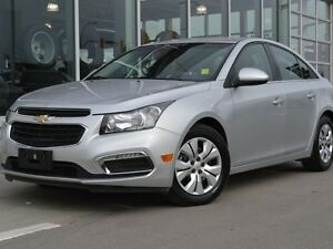2015 Chevrolet Cruze Certified | Silver Ice Metallic | Remote Ve